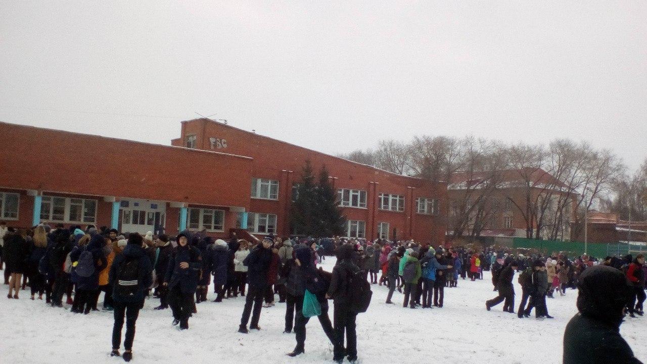 В Омске «заминировали» гимназию №76