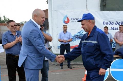 «ОмскВодоканал» получил новую коммунальную автотехнику
