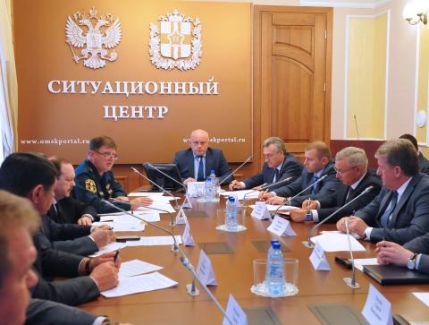 Заседание облправительства