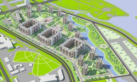 Омский Сбербанк выделит полмиллиарда на микрорайон в районе метромоста