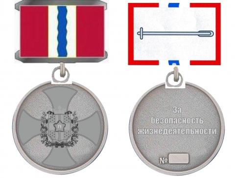 В Омской области учреждена медаль «За безопасность жизнедеятельности»