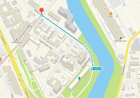 В Омске больше двух месяцев будет перекрыта часть улицы Краснофлотская