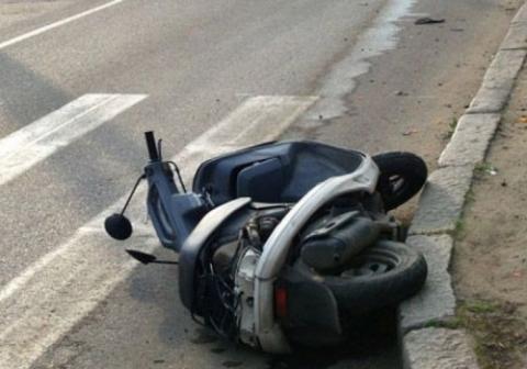 Авария на скутере привела к смерти подростка