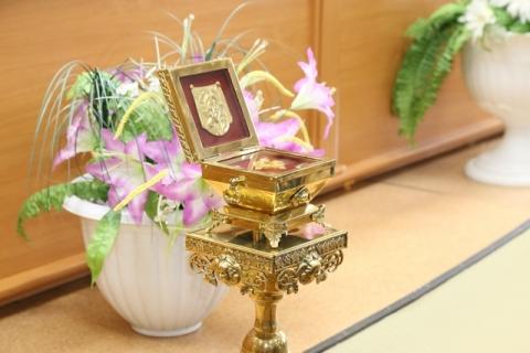 Сотрудники омского УФСИН прикоснулись к святым мощам пророка Иоанна Крестителя