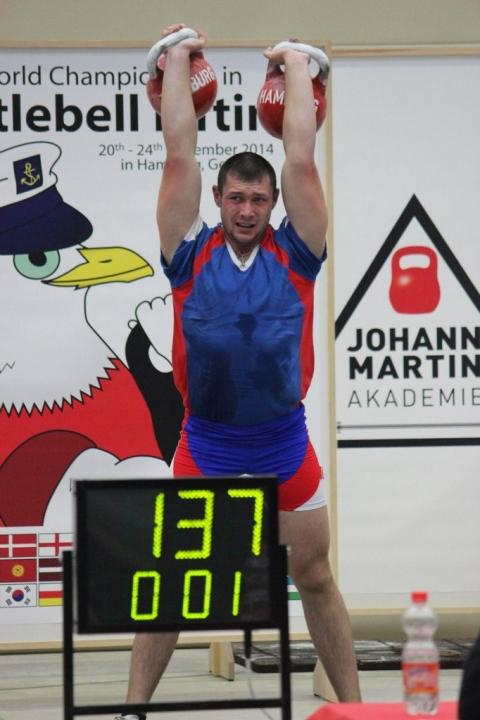 Силач из Омского района установил мировой рекорд