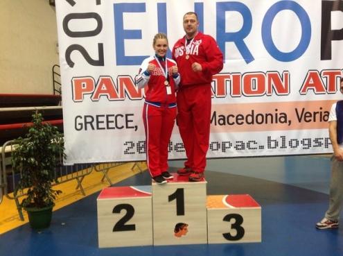 Омичи выиграли Чемпионат Европы по панкратиону