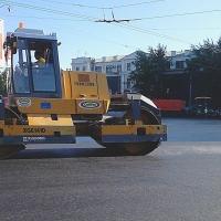 Перекрытие движения на ремонтируемых омских магистралях пообещали регулировать