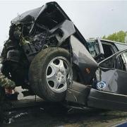 В аварии на трассе Омск-Тара пострадали 12 человек
