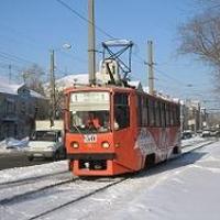 В Омске временно отменят трамваи № 1, 4 и 7