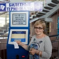 На омском автовокзале появились терминалы для продажи билетов
