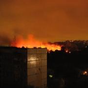Военный вертолёт разбился в жилом квартале Москвы