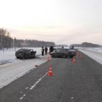 В Омской области в аварии пострадали пятеро человек