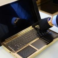 Французская компания выпустила ноутбук из золота