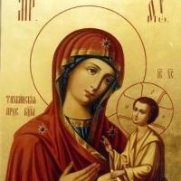 Главный омский таможенник передал епархии конфискованную икону Богородицы