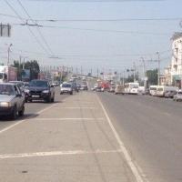 У Ленинградского моста в Омске завершены дорожные работы