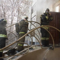 В центре Омска случился пожар в массажном салоне