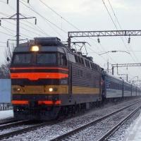 В Омске автомобиль столкнулся с поездом