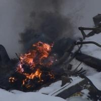 В Омске сгорела машина, зацепившая огнем две других