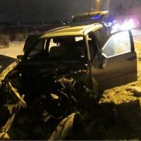Омские автоинспекторы выяснили обстоятельства столкновения легкового автомобиля и бензовоза