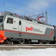 Омские железнодорожники получили новые heavy metal электровозы
