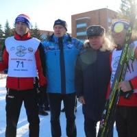 Крикорьянц отметил свой 52-й день рождения на «Лыжне России»