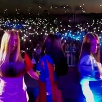 Группа «Серебро» зафиксировала на видео свой приезд в Омск