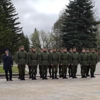 В Президентский полк от Омской области отправились 15 парней