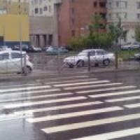 В Омске водитель автобуса сбил пешехода насмерть