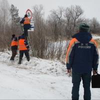Морозы позволили открыть уже четыре ледовые переправы в Омской области