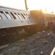 """Омские стройотрядовцы спасали пассажиров поезда """"Новосибирск-Адлер"""""""