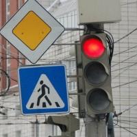 На Левобережье Омска заработал новый светофор