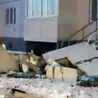 Взорвавшийся в новостройке Омска баллон с газом был установлен незаконно