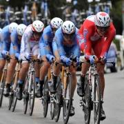 Гонки на велотреке «Динамо»