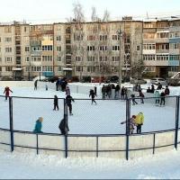 В Октябрьском округе Омска зальют 11 хоккейных площадок