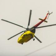 Вертолеты над Омском могли проводить лазерное сканирование