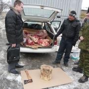 На Ленинском рынке Омска центнер мяса задержали до выяснения обстоятельств
