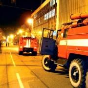 """Пожарные потушили """"Голубой огонек"""""""