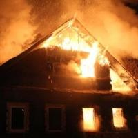 В Омской области в собственном доме сгорел пенсионер