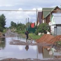 Суд обязал мэрию обеспечить водоотвод с дороги по улице 10-я Марьяновская
