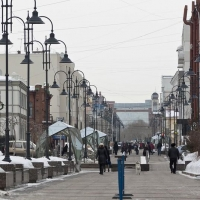 Фонтаны на Омском Арбате отправили в зимнюю спячку