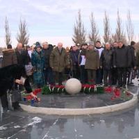 В Парке Победы почтили память омичей, погибших в военных действиях на Кавказе