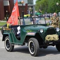 Ретроавтопробег со Знаменем Победы отправится на север Омской области