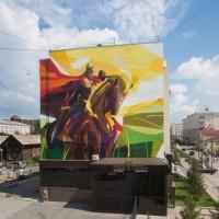 «Стенограффия» снова разукрасит Омск