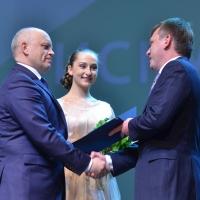 Губернатор поздравил коллектив Омского Сбербанка со 175-летием организации