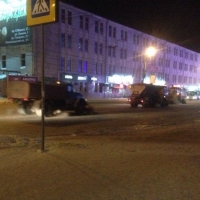 Последствия снегопада в Омске устраняли 332 спецмашины