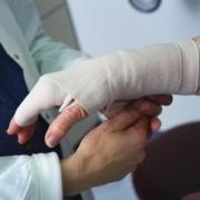 Гипсовые фигуры травматологического отделения