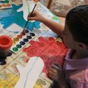 «Разноцветные ладошки» помогли выиграть конкурс