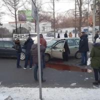 В Омске у Телецентра случилась серьезная авария