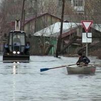 Зимнее промерзание рек в Сибири может вызвать угрозу затопления