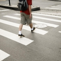 Омский маршрутчик сбил 10-летнего ребёнка на пешеходном переходе